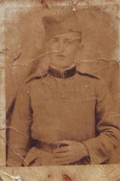 Moj djed Mehmed Šestan u uniformi kraljevine jugoslavije